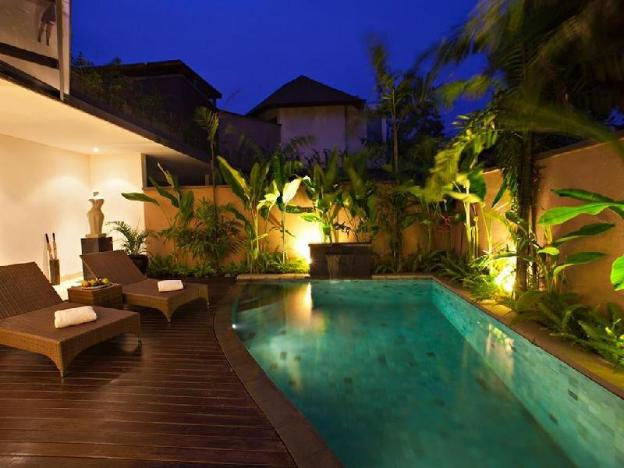 1BR Luxury Swim Pool Villa + Breakfast @ Seminyak