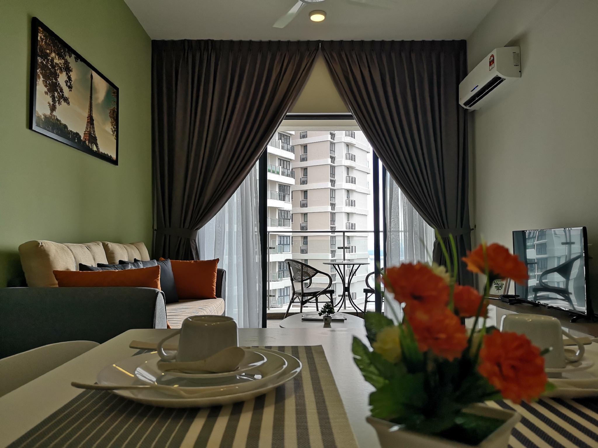 Seaview Suite 2C1402  Beletime Mall Danga Bay