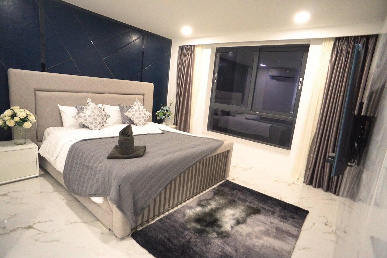 Newly Pattaya Three-Bedroom BBQ Pool Villa 2082 วิลลา 3 ห้องนอน 3 ห้องน้ำส่วนตัว ขนาด 300 ตร.ม. – เขาพระตำหนัก