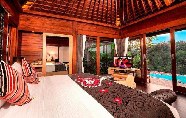 1BR Deluxe Pool Villa+B'fast +Hot Tub +River View