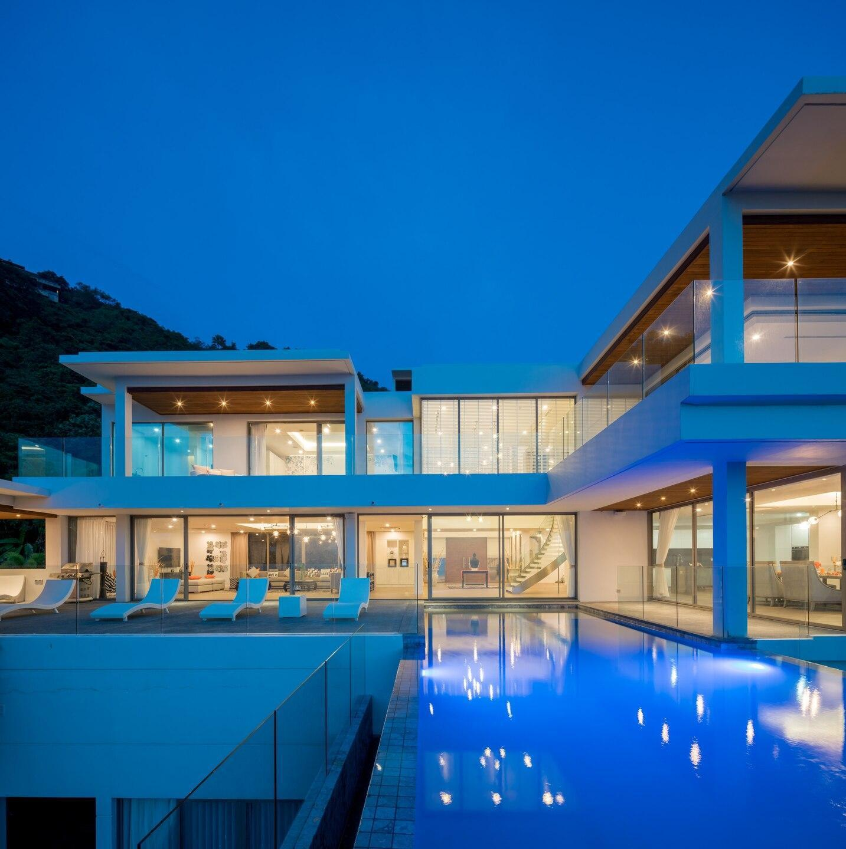 Seaview Villa 6BR, Chef/Driver/Cinema/InfinitePool วิลลา 6 ห้องนอน 6 ห้องน้ำส่วนตัว ขนาด 2000 ตร.ม. – กมลา