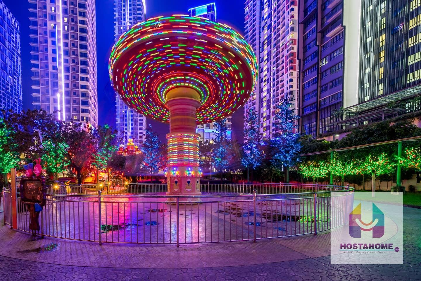 ❤️CNN most colorful Place @Central I-City w Wifi❤️