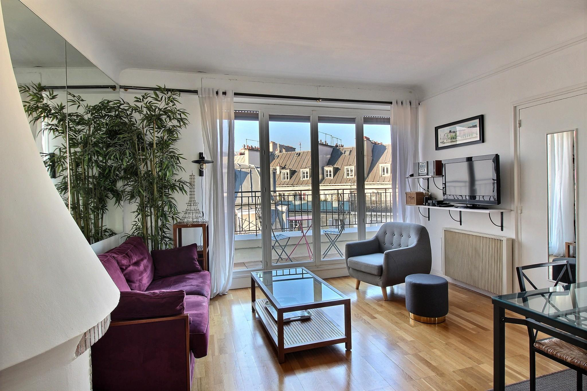 102111 - Large apartment for 4 people near the Opéra