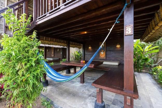 Dream Beach Kubu & Spa ( Deluxe Hut Sea view )