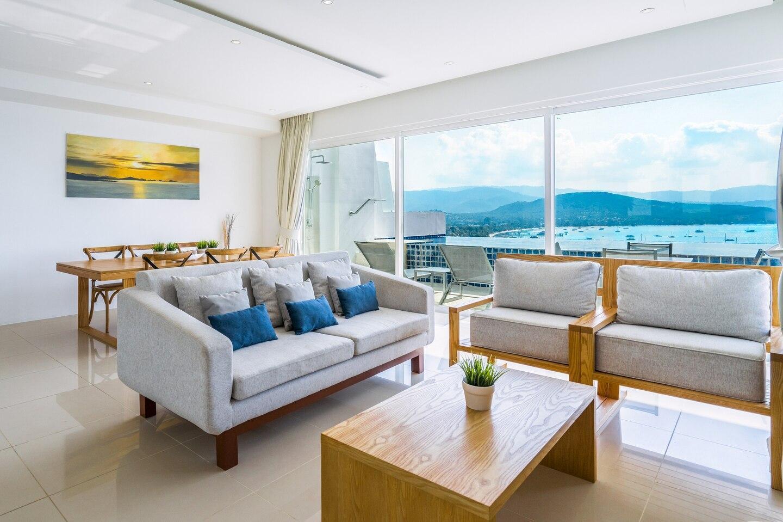 Luxury Sea View Pool Villa IJ2  uniQue Residences วิลลา 2 ห้องนอน 2 ห้องน้ำส่วนตัว ขนาด 60 ตร.ม. – เชิงมน