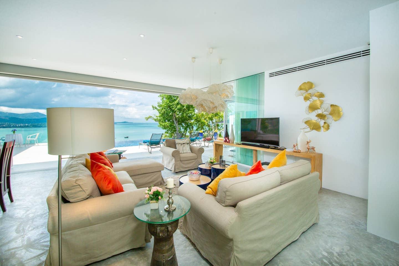 Luxury Sea View Pool Villa O uniQue Residences วิลลา 4 ห้องนอน 4 ห้องน้ำส่วนตัว ขนาด 120 ตร.ม. – เชิงมน