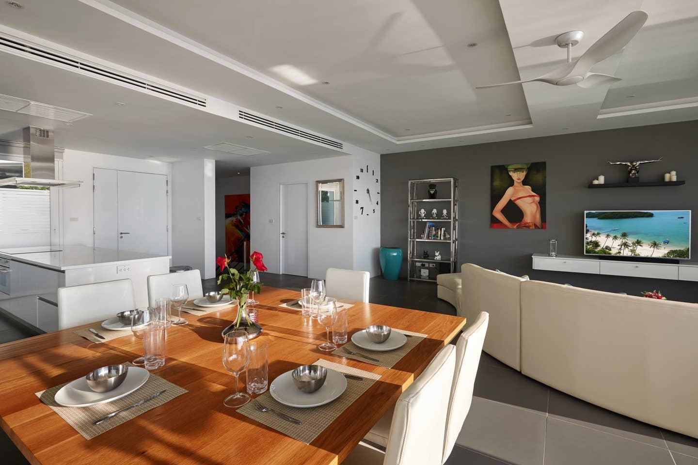 Luxury Sea View Pool Villa G  uniQue Residences วิลลา 4 ห้องนอน 4 ห้องน้ำส่วนตัว ขนาด 120 ตร.ม. – เชิงมน