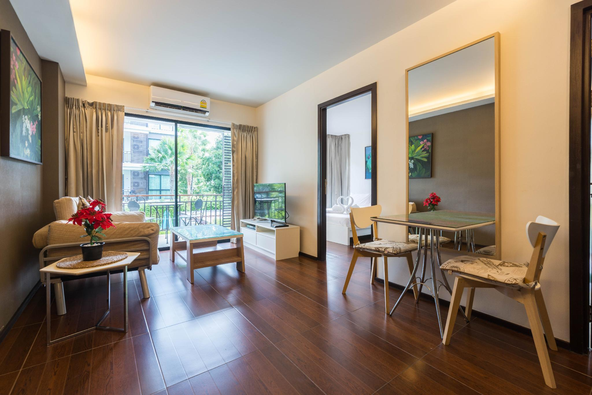 Luxurious-Secure Apartment With 1 Bedroom - Rawai