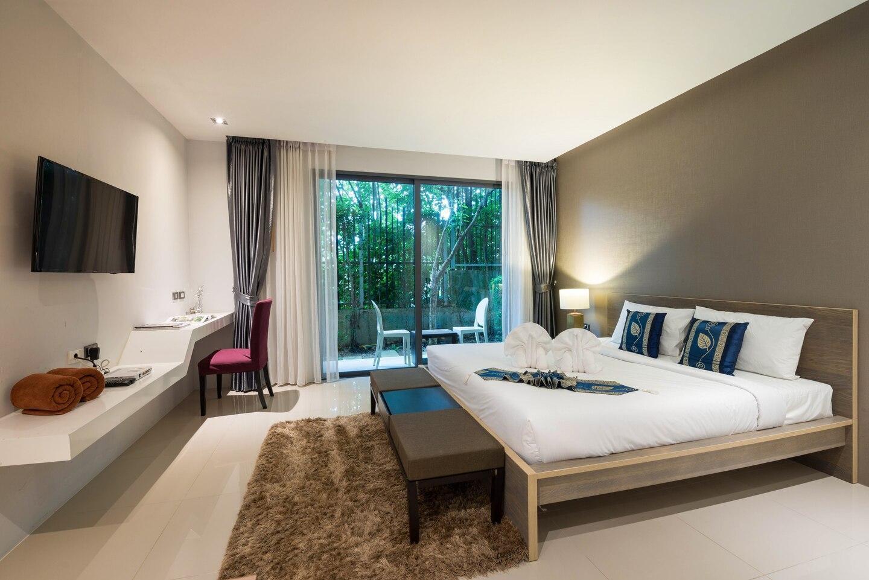 Stunning Studio Apartment In The Heart Of Patong อพาร์ตเมนต์ 1 ห้องนอน 1 ห้องน้ำส่วนตัว ขนาด 35 ตร.ม. – ป่าตอง