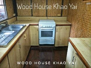 [カオヤイ国立公園]一軒家(30m2)| 3ベッドルーム/1バスルーム WoodHouse Family 3 bedrooms 1 bath