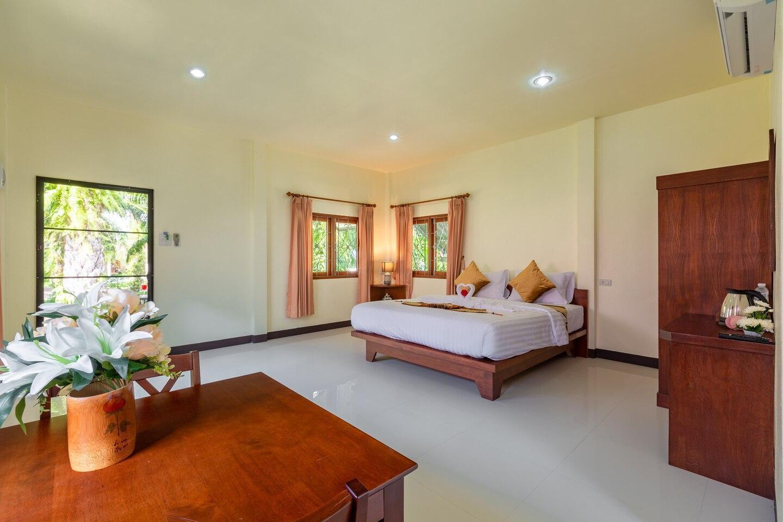 Ao-Nang,Free WIFI,Private Room,Krabi3 (King bed) วิลลา 1 ห้องนอน 1 ห้องน้ำส่วนตัว ขนาด 45 ตร.ม. – อ่าวน้ำเมา