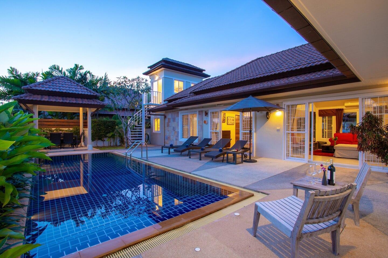 Villa Maya บ้านเดี่ยว 4 ห้องนอน 4 ห้องน้ำส่วนตัว ขนาด 220 ตร.ม. – ในหาน