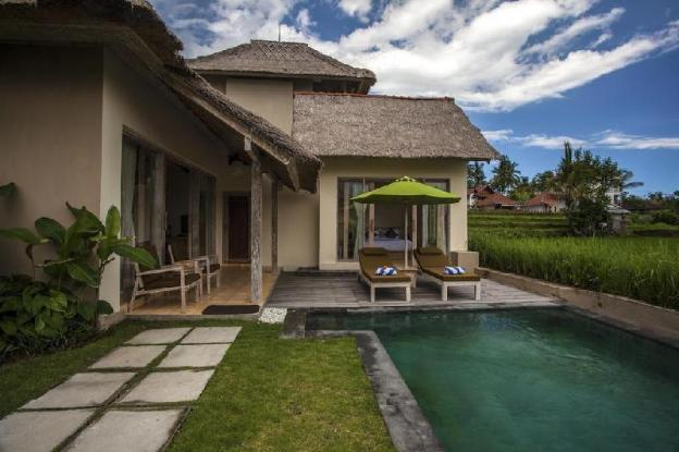 2BR Divine Rice + Jungle View + Bfast for 4 @Ubud