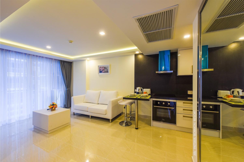Quartier.15 Pattaya Grand Avenue Condo 2 bedrooms อพาร์ตเมนต์ 2 ห้องนอน 2 ห้องน้ำส่วนตัว ขนาด 63 ตร.ม. – พัทยากลาง