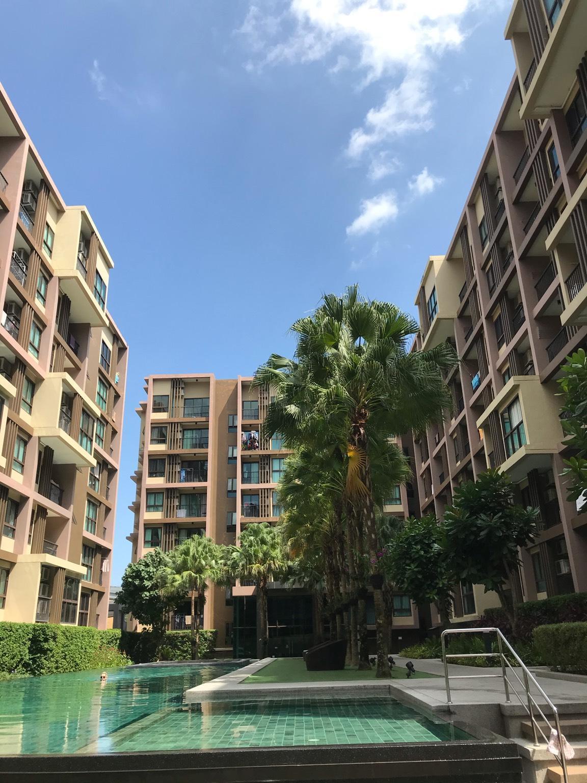 Zcape3 condominium central Phuket อพาร์ตเมนต์ 1 ห้องนอน 1 ห้องน้ำส่วนตัว ขนาด 28 ตร.ม. – ตัวเมืองภูเก็ต