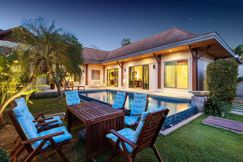 Naiharn Beach Niche 3 Bedrooms Private Pool Villa วิลลา 3 ห้องนอน 3 ห้องน้ำส่วนตัว ขนาด 480 ตร.ม. – ในหาน