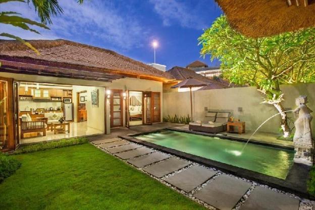 1BR Beach Private Pool Villa @Jimbaran