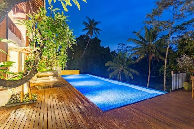 6BR Infinity Villa complete with Pool&Kitchen@Ubud