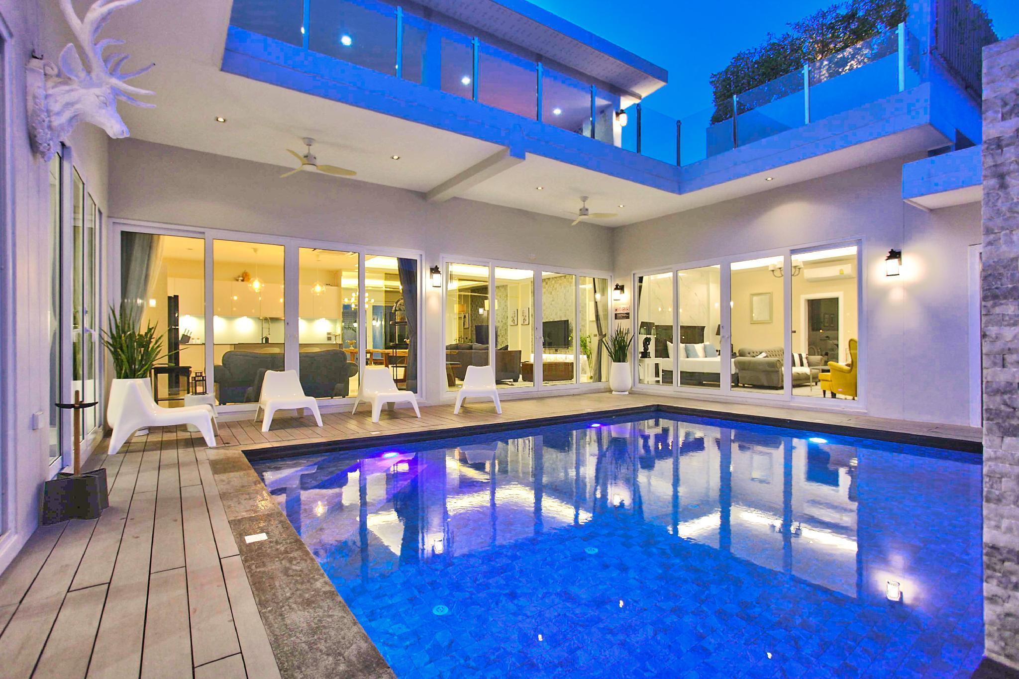 Luxury Pool Villa Pattaya - ViewPoint วิลลา 5 ห้องนอน 7 ห้องน้ำส่วนตัว ขนาด 360 ตร.ม. – หาดจอมเทียน