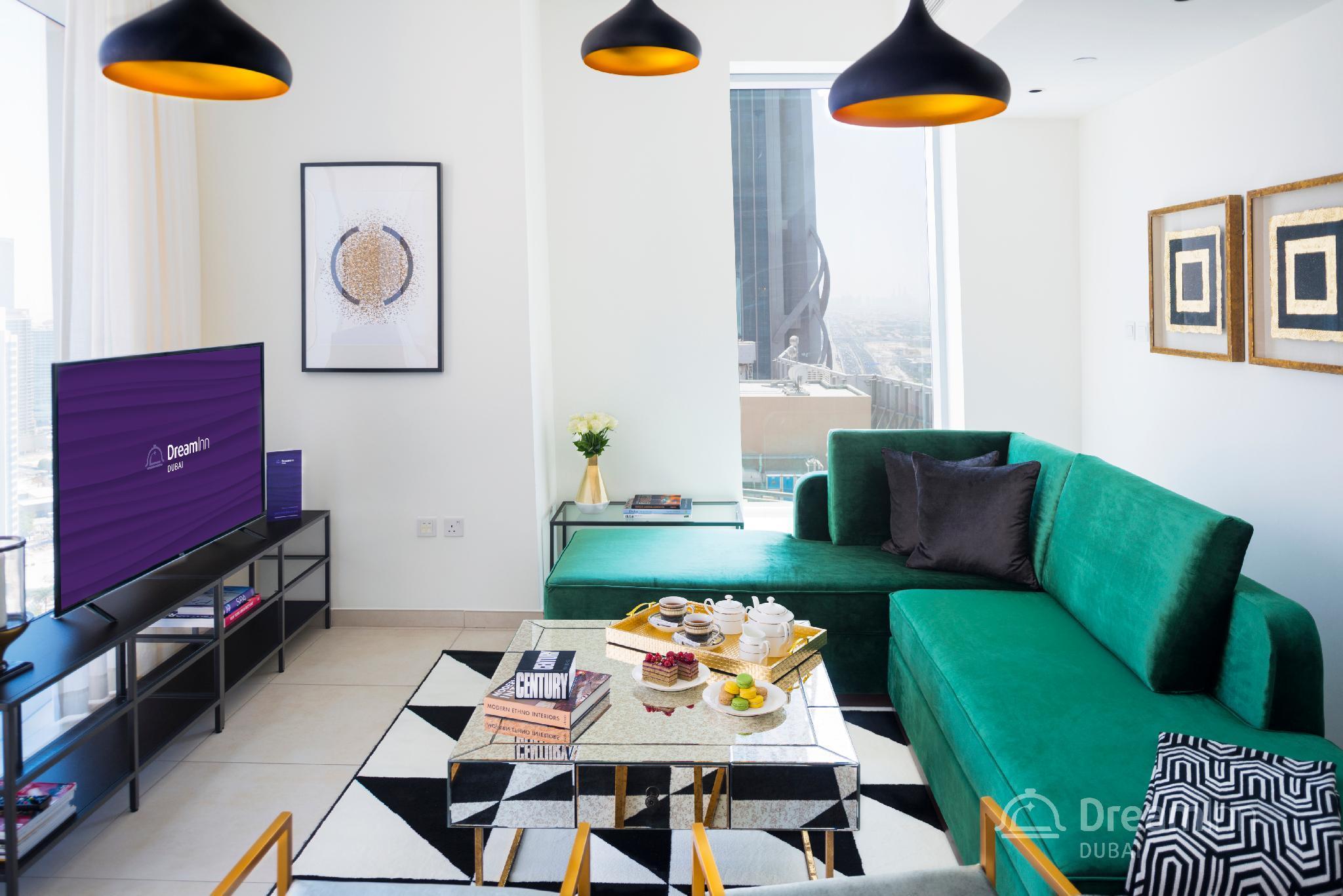 Dream Inn   48 Burj Gate 3BR Apartment