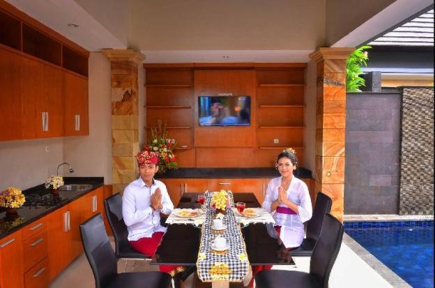 OneBR Villa with Private Pool-Breakfast KMV