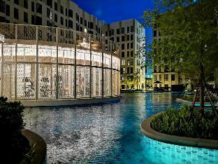 [プラプラディン]スタジオ 一軒家(23 m2)/1バスルーム STU for3@BTS Bearing  Resort Condo with Large Pool