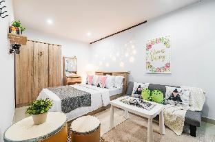 [Thonburi]スタジオ アパートメント(24 m2)/1バスルーム NUTANEE Room No.09