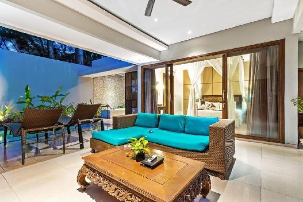 1 BR Deluxe Pool Villa + Brkfst @Seminyak