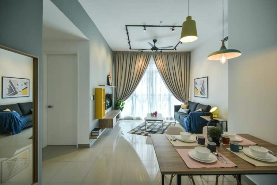 minsu @ Conezion IOI Resort (2 rooms - Pool view)