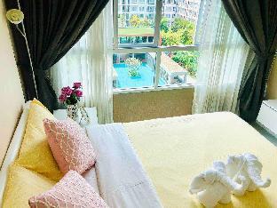 [ファーハム]アパートメント(33m2)| 2ベッドルーム/2バスルーム D sign#Excellent pool view#2Rooms#2Beds