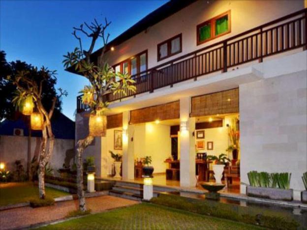 Honeymoon private pool  villa at seminyak