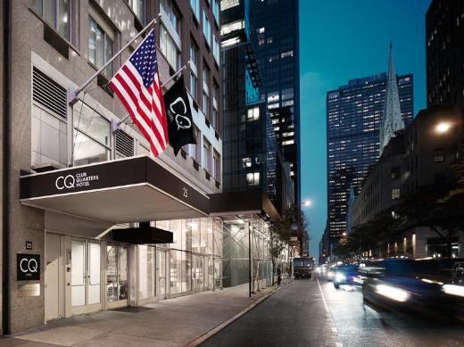 Club Quarters Hotel, opposite Rockefeller Center