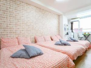 Family friendly Specious Shinsaibashi apt 6 pax