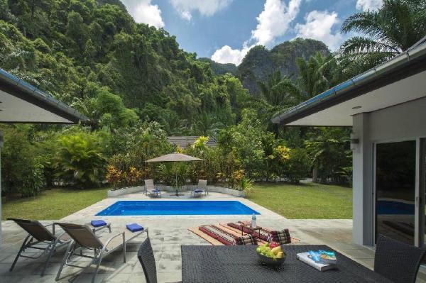 Eden Villas-Krabi-Pool Villa-FreeCar-Mountain View Krabi