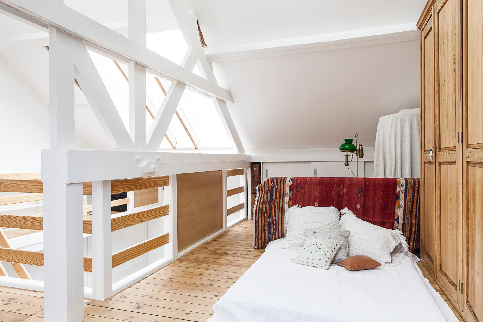 Bright and Sunny Attic Room
