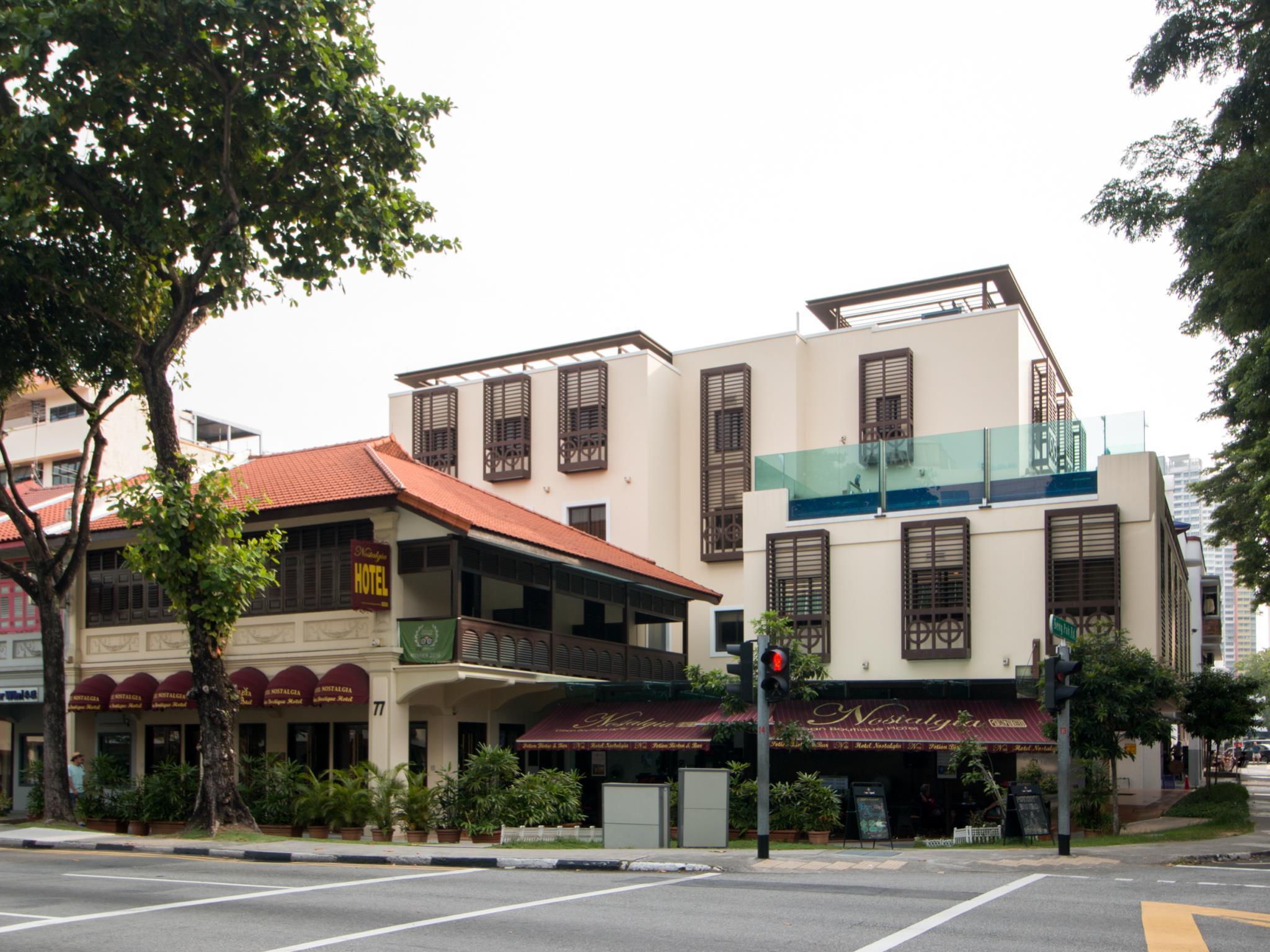 Nostalgia Hotel (SG Clean Certified)