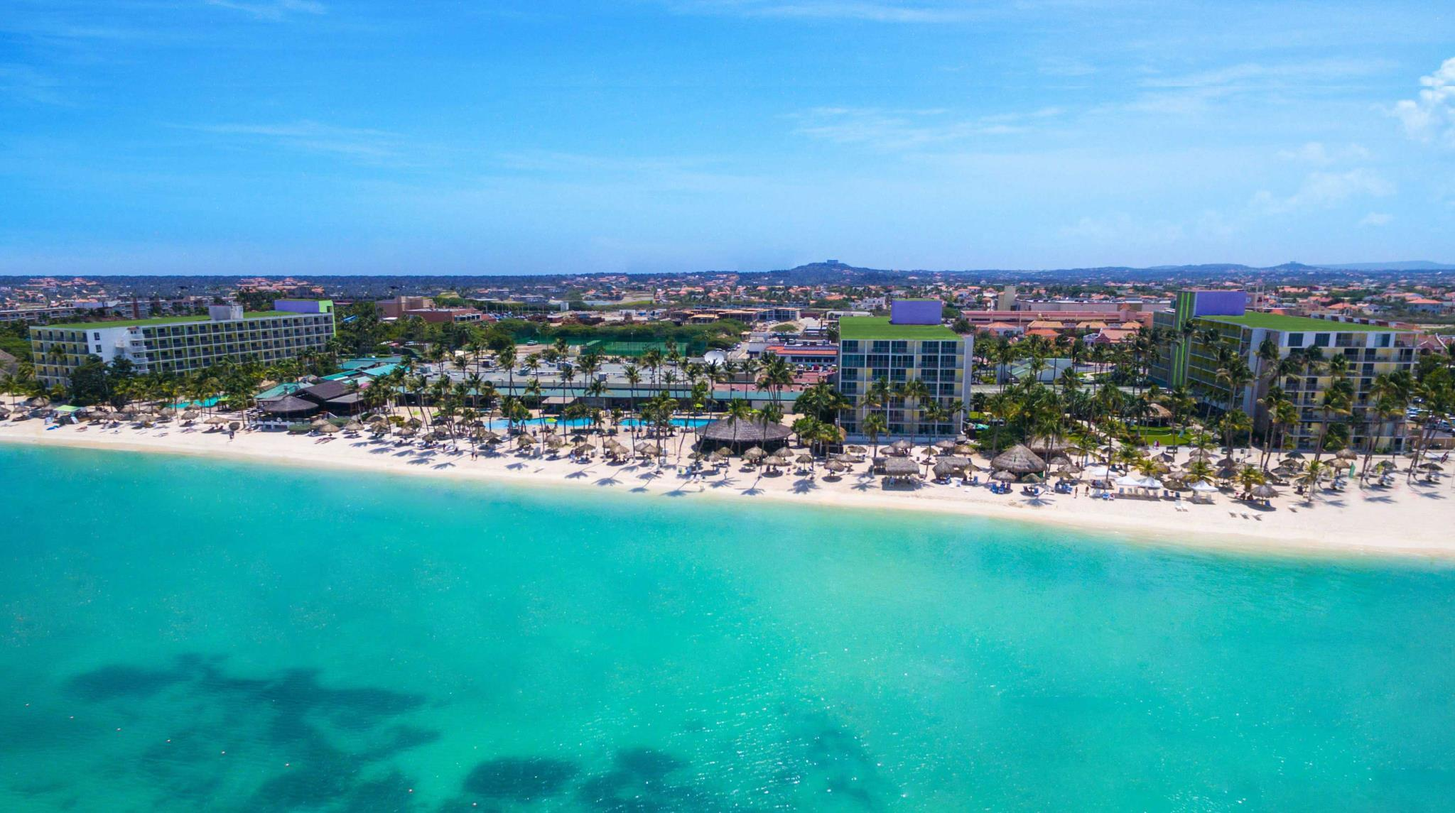 Palm Beach Holiday Inn Resort Aruba In South America