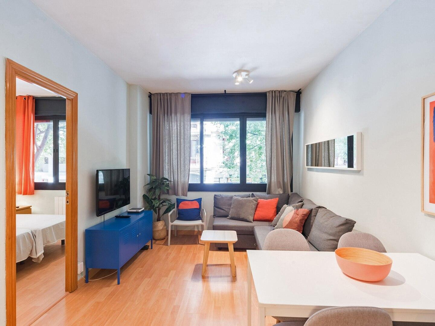Modern and bright design in a central 3bdr apt