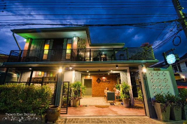 บ้านตลาดเก่า บัลโคนี กระบี่ – Talardkao Balcony Krabi House