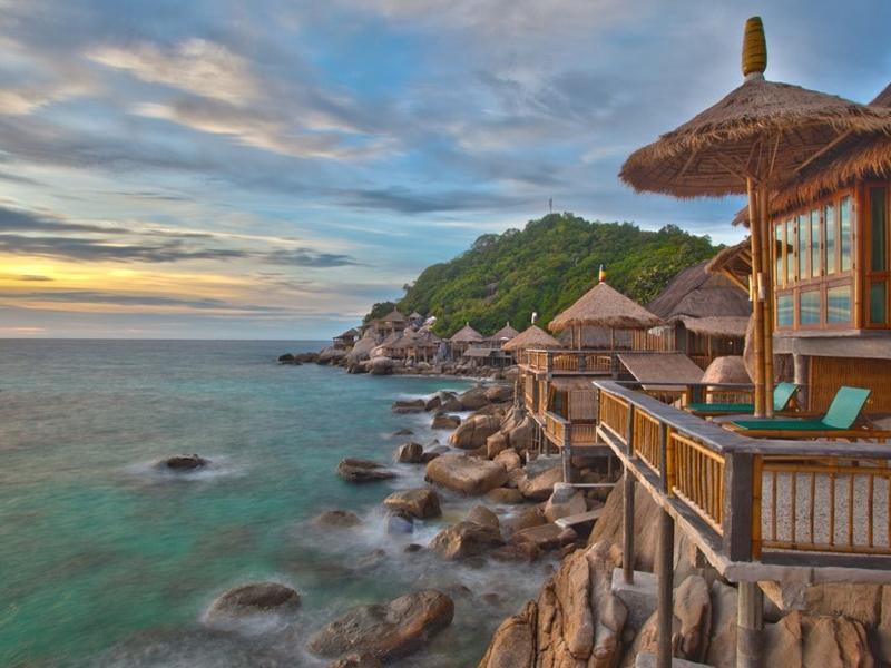 Koh Tao Bamboo Huts เกาะเต่า แบมบู ฮัท
