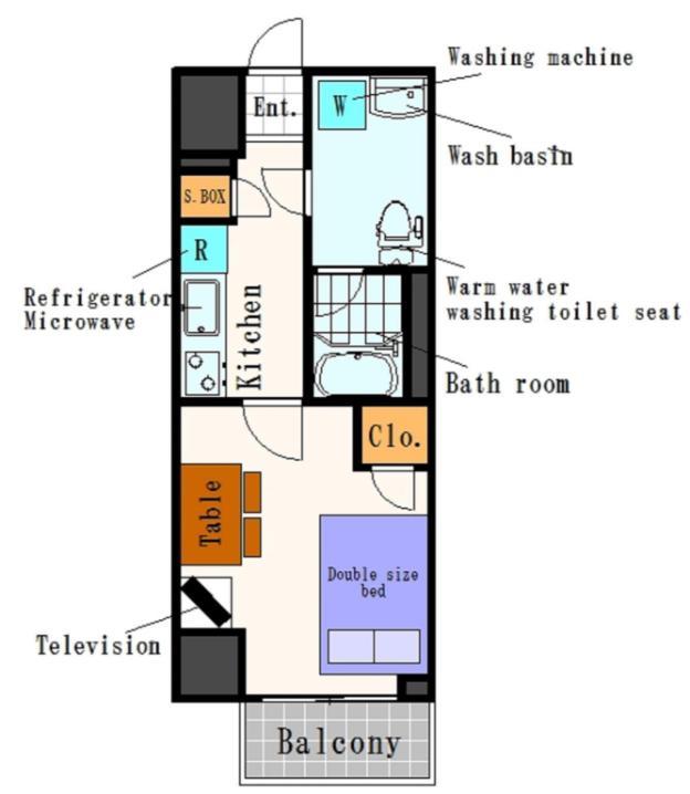 KM Apartment in Ueno 3-2