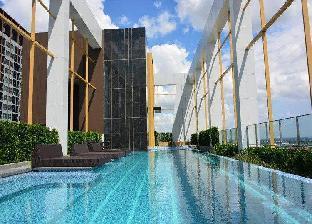 [コンケーンショッピングセンター周辺]アパートメント(24m2)| 1ベッドルーム/1バスルーム Escent Condo Khonkaen 1 bedroom New
