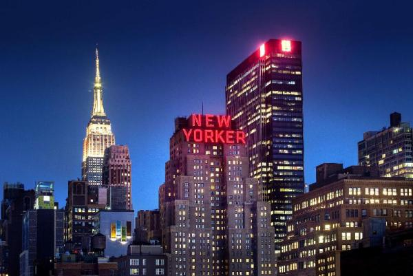 The Wyndham New Yorker Hotel New York