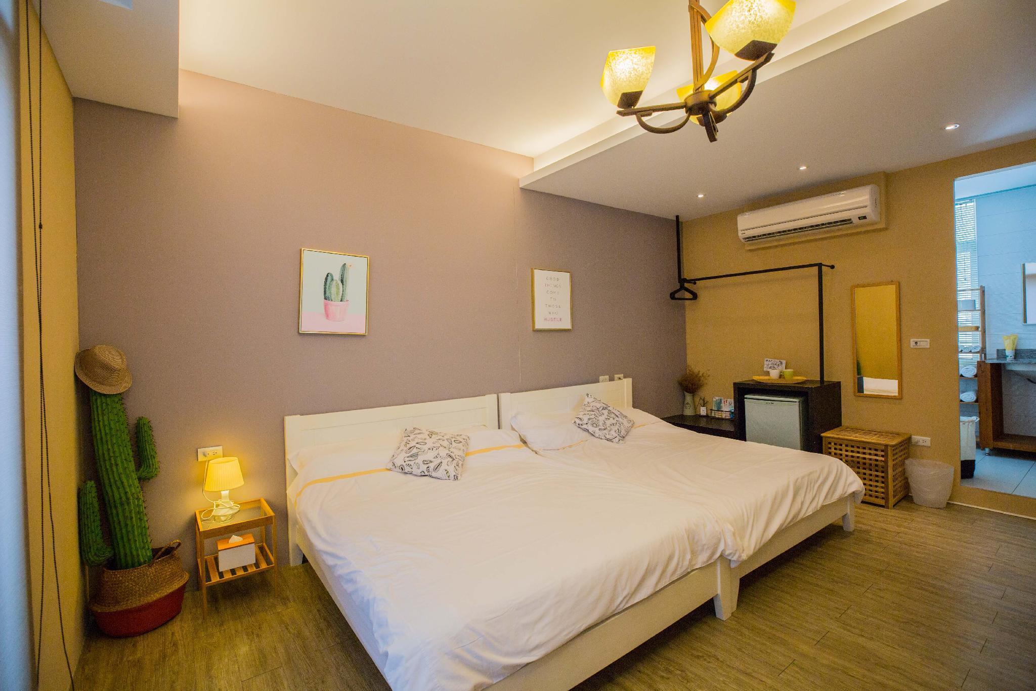Tainan near T.S. Mall & Ambassador Theater - Leaf  hostel Happiness Family room