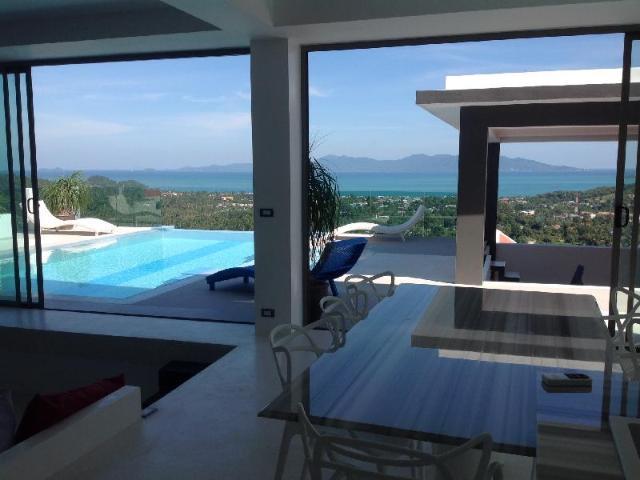 Serena Villa private swiming pool with sea view – Serena Villa private swiming pool with sea view