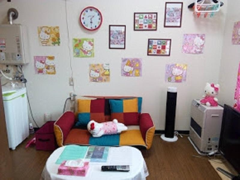 Hello Kitty Room 5min From Subway And Airport Bus