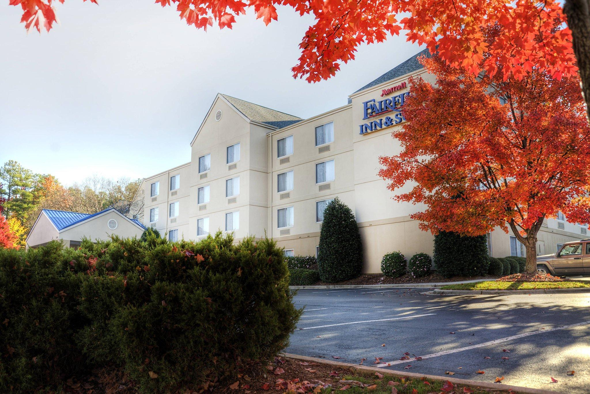 Fairfield Inn And Suites Raleigh Crabtree Valley
