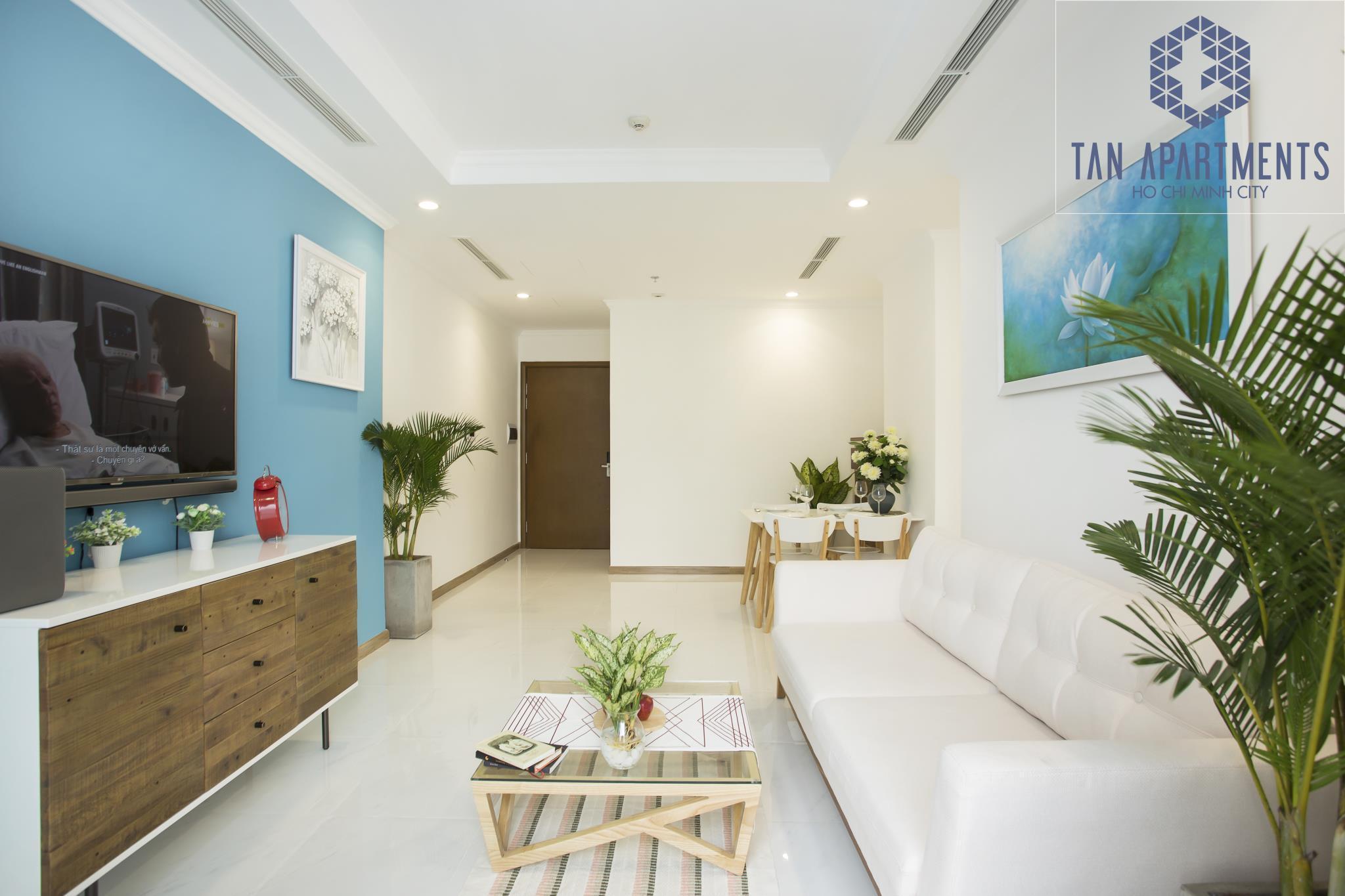 Vinhome Central Park  49 Floor Tan's Apartment