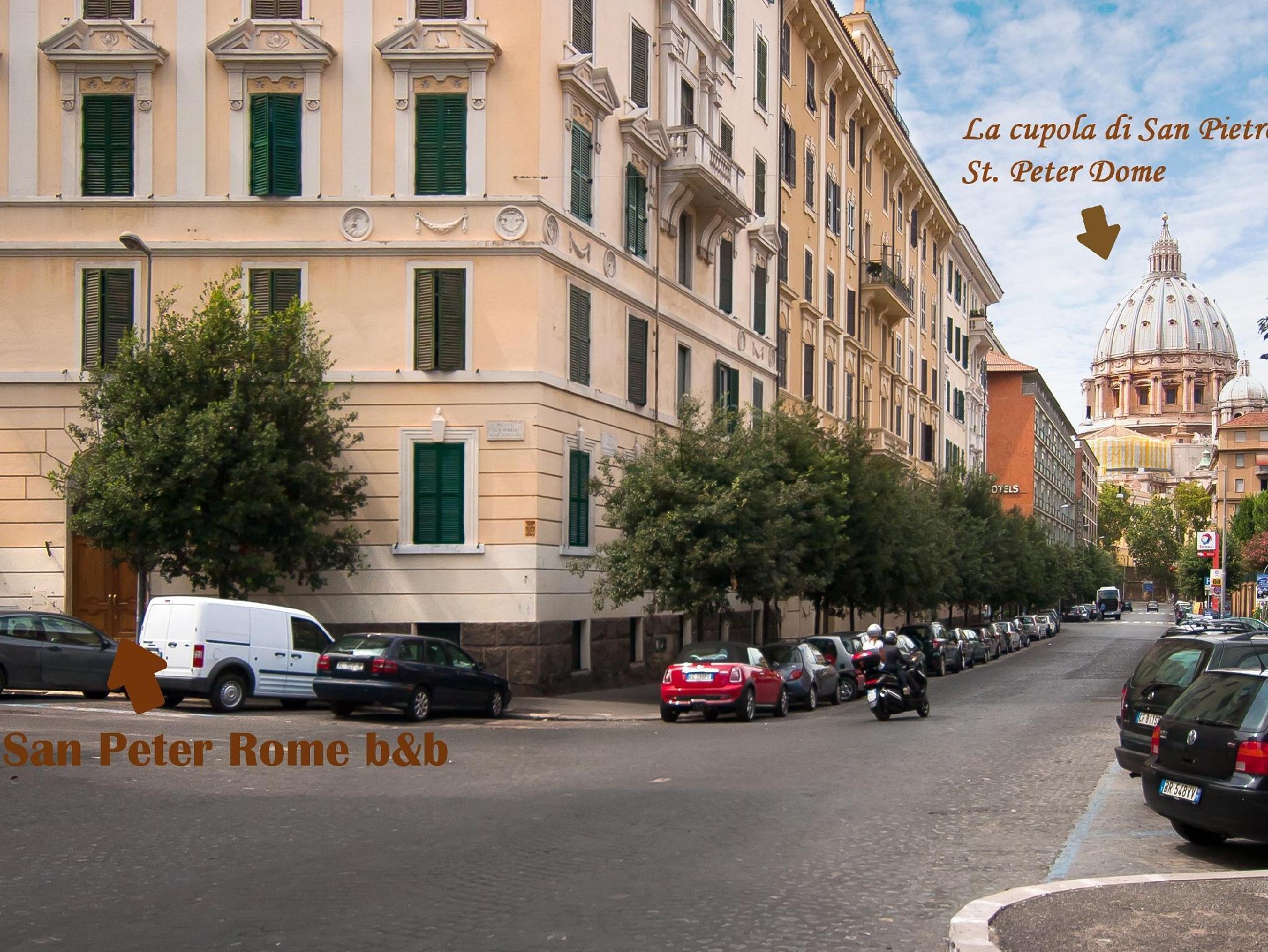San Peter Rome BandB
