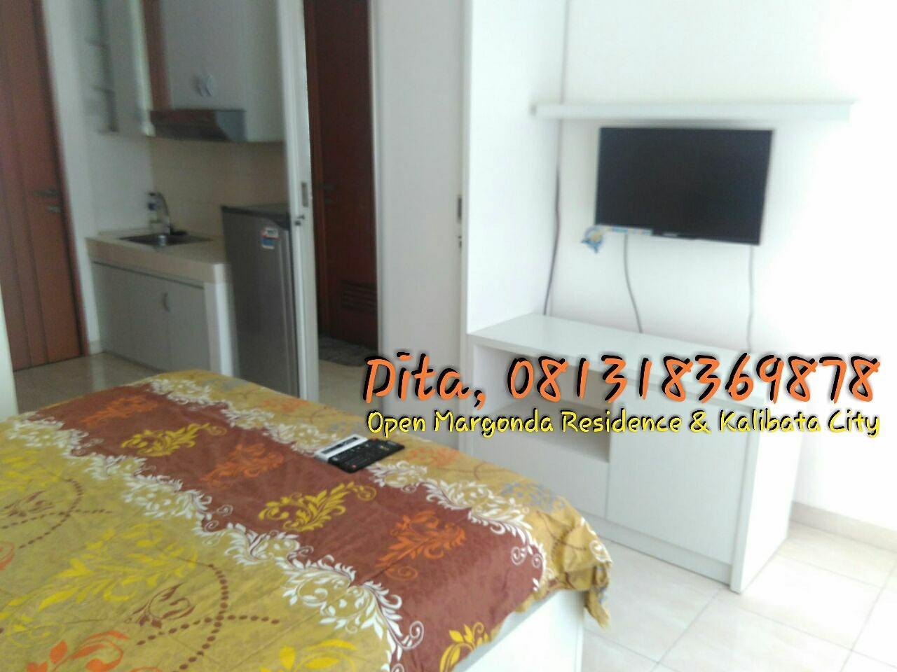 Studio Margonda Residence 3   Dita 1